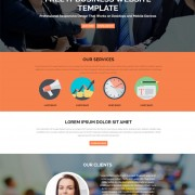 Free IT Business Website Template